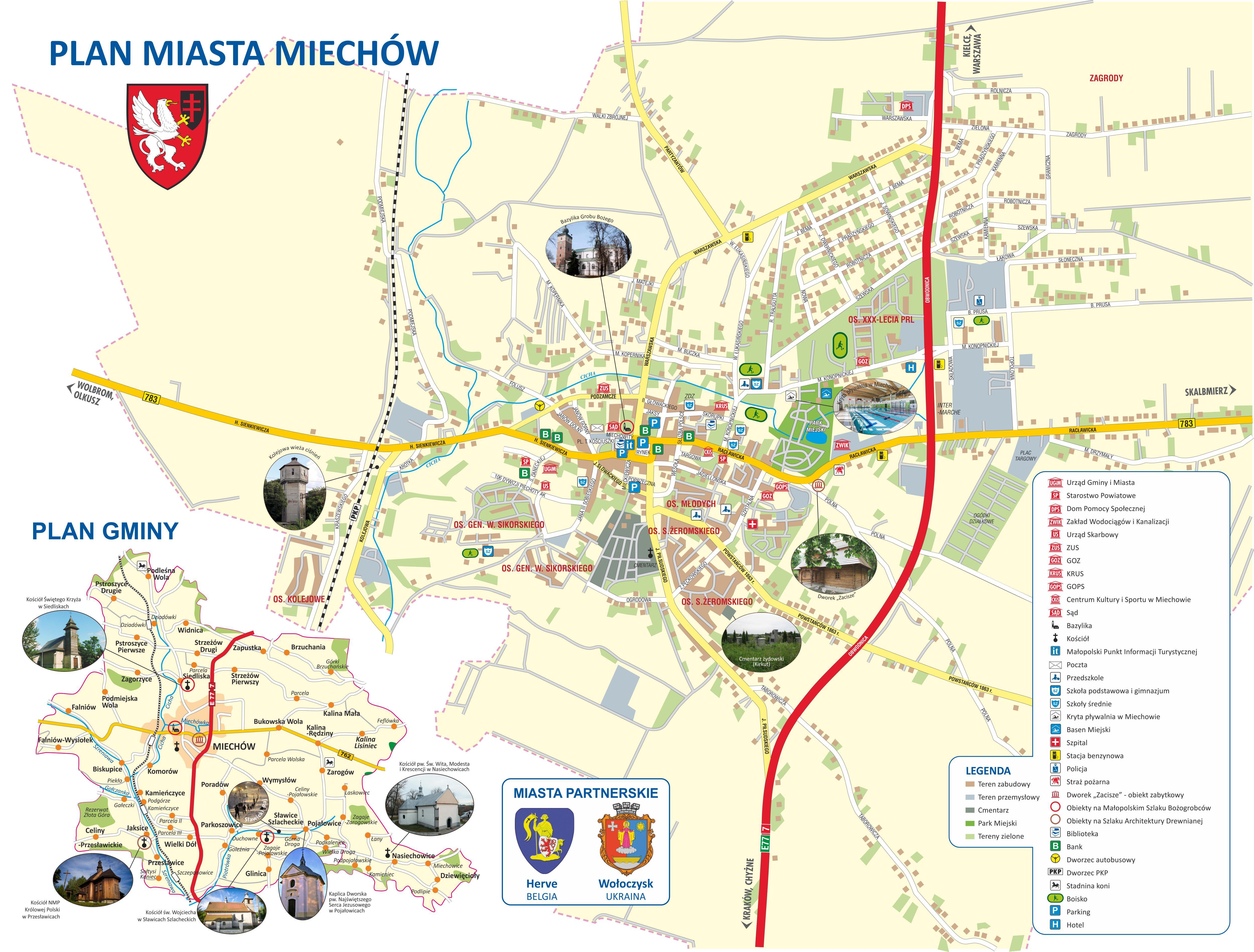 Plan Miasta I Gminy