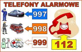 Numery alarmowe
